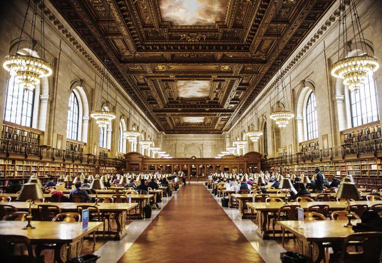 New York Public Library. Beeld getty
