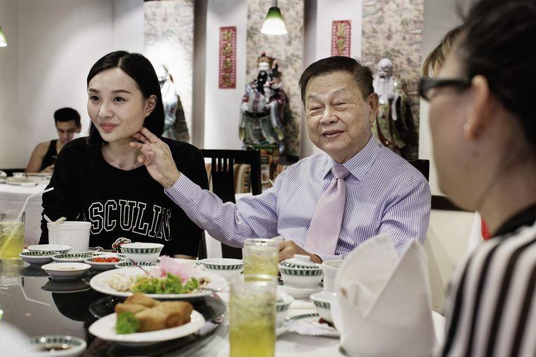 Een 22-jarige Chinese ex-patiënt. Beeld Daniel Rosenthal