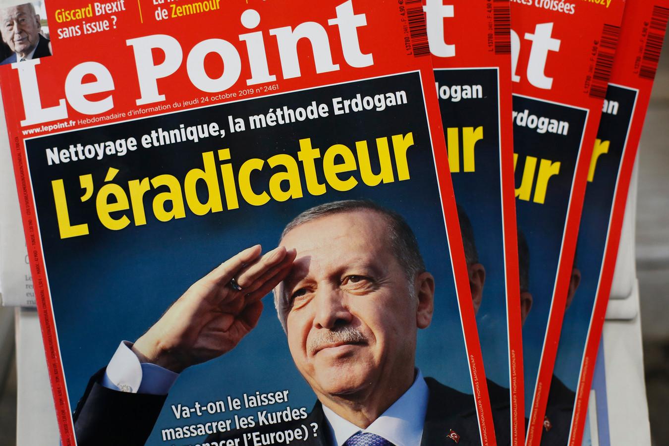 De cover van 'Le Point' spreekt boekdelen.
