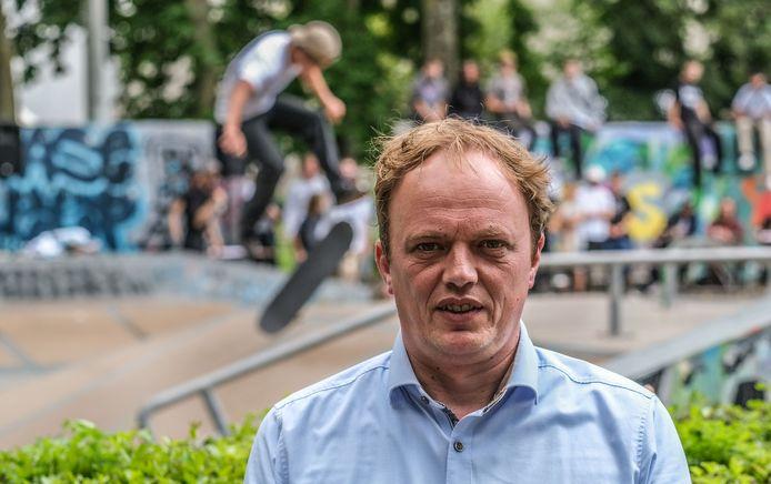 """Schepen van Jeugd Dimitry Soenen: """"We laten de skaters meebeslissen."""""""