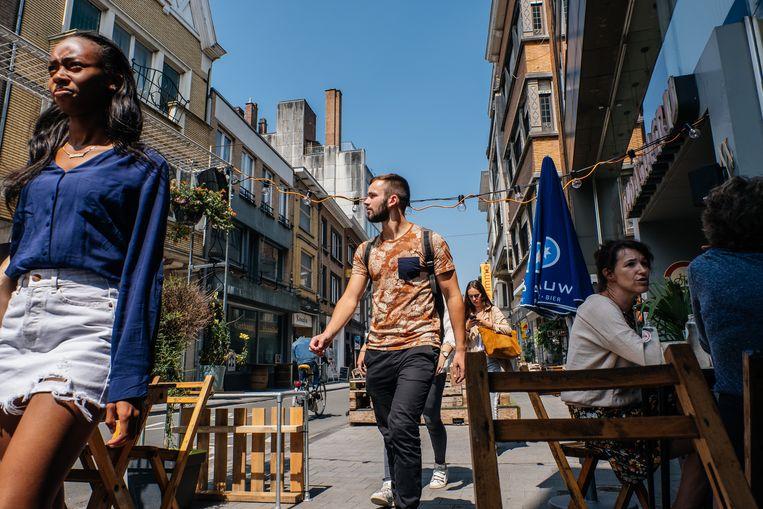Kortrijk scoort goed qua cultuur, maar winkelen doen veel Kortrijkzanen elders.  Beeld Wouter Van Vooren