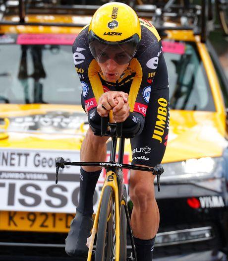 Jumbo-Visma zegt klassement Bennett in Giro vaarwel: 'Moeten andere plannen maken'