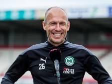 Geëmotioneerde Robben beleeft op Drentse nepkorrels zijn fijnste momenten sinds zijn terugkeer bij FC Groningen