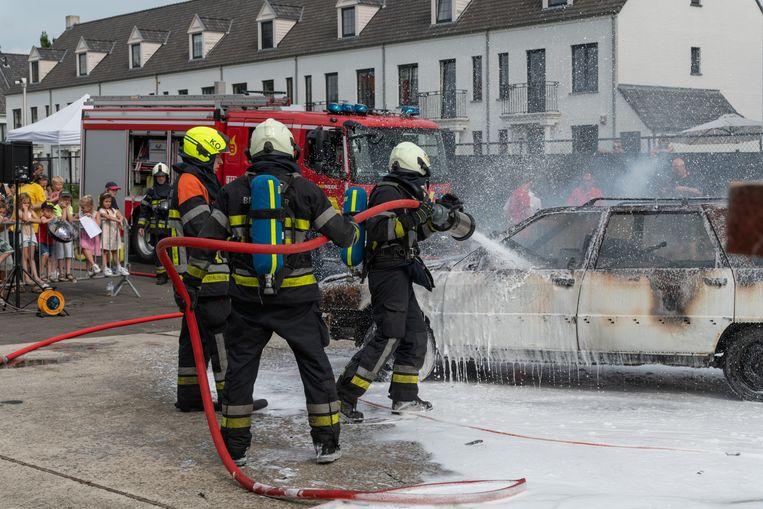Artchiefbeeld: opendeurdag van de brandweer van Kontich.