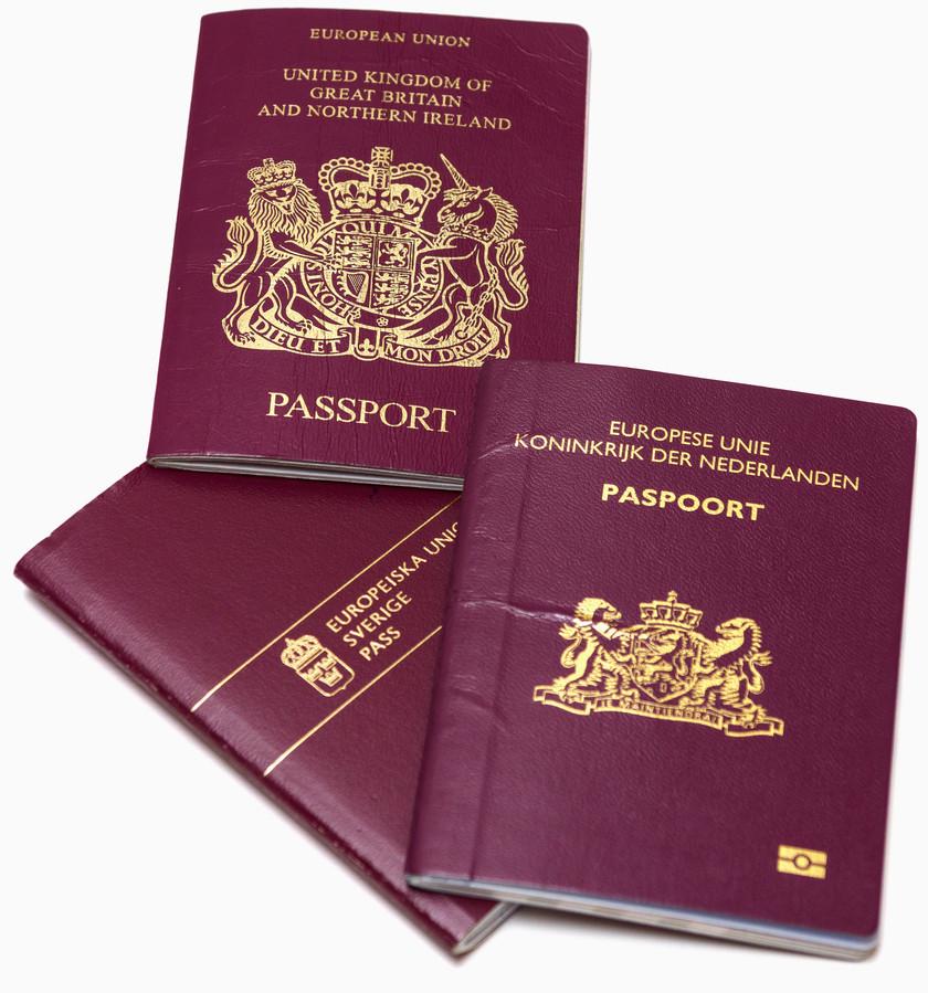 paspoort EU, shutterstock