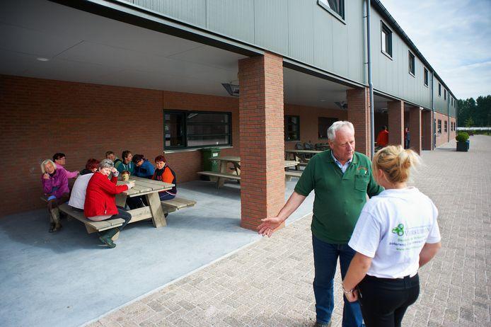 Het onderkomen voor arbeidsmigranten bij teler Verkuijlen in Heeswijk-Dinther.