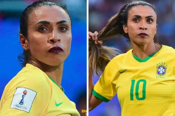 Marta scoorde gisteren haar zeventiende treffer op een WK.