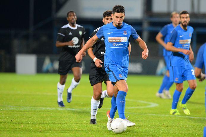 Lennard Hens had met een assist en een doelpunt een ruim aandeel in de zege van Dender tegen La Louvière Centre.