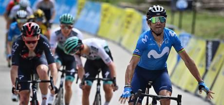 Valverde sprint naar dagsucces in Dauphiné na zware rit, Kelderman vierde