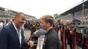 Ruud Gullit en Lucas Biglia van AC Milan