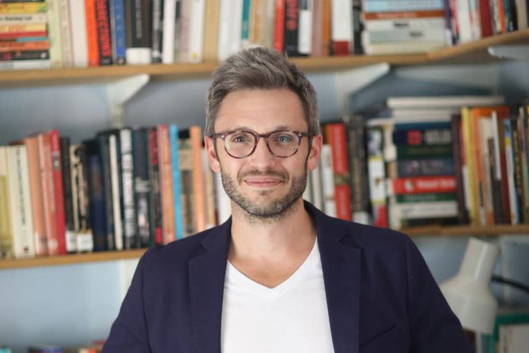 Jason Hickel is economisch antropoloog aan de London School of Economics. Beeld RV
