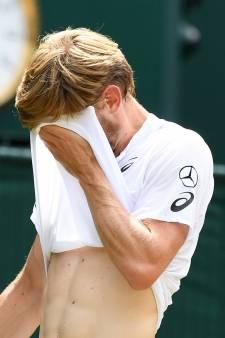 David Goffin écrasé en quarts de finale par le numéro 1 mondial Novak Djokovic