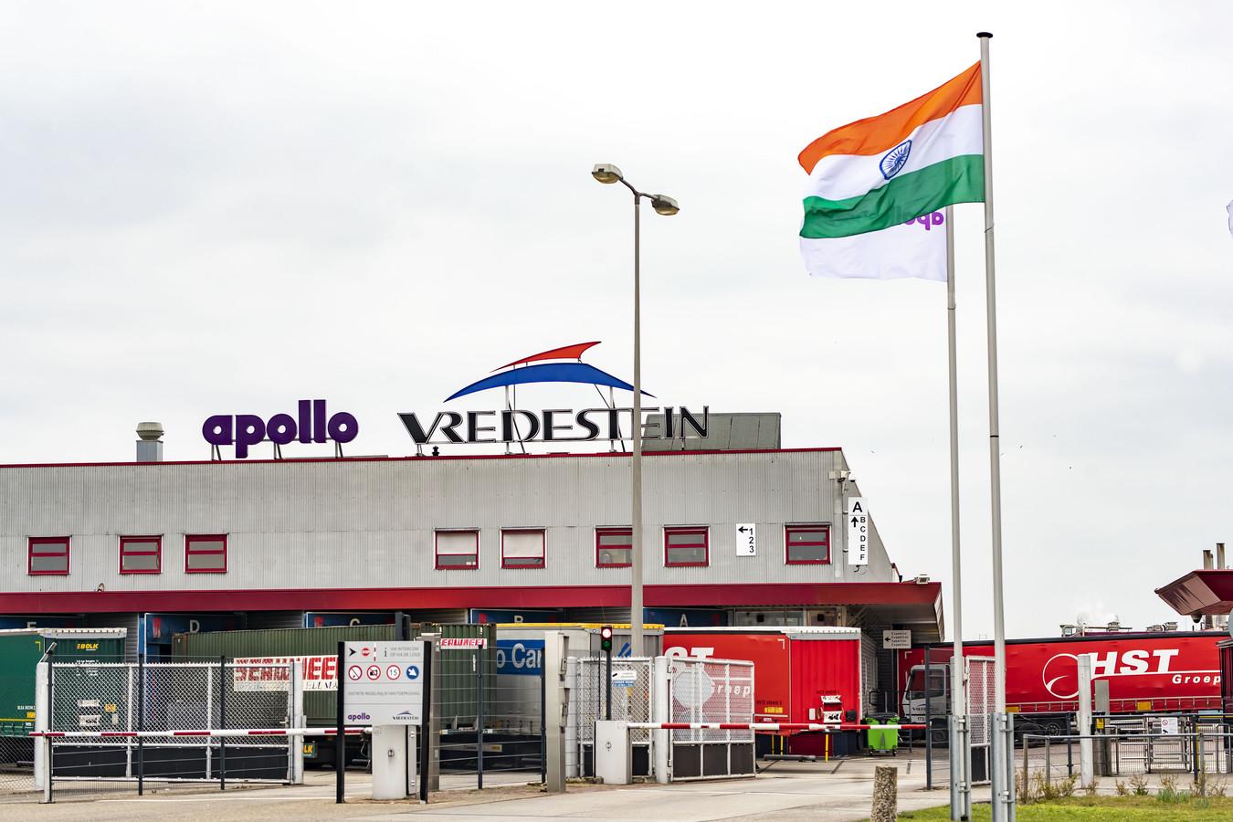Bij Apollo Vredestein in Enschede dreigt een massa-ontslag.