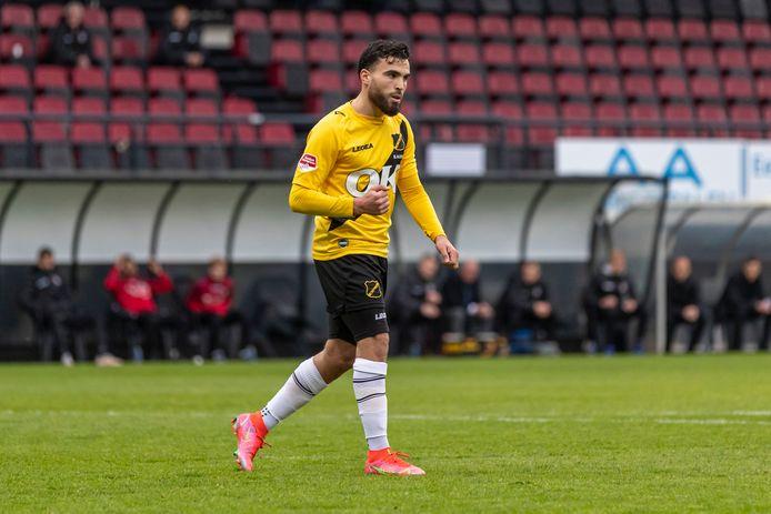 El Allouchi scoorde tegen NEC vanaf de stip