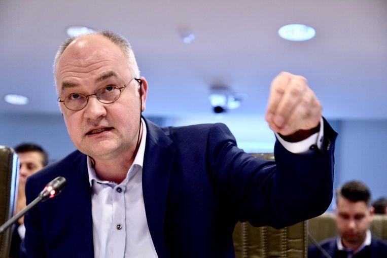 Groen-fractieleider Björn Rzoska. Beeld Tim Dirven