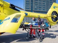 Twee ic-patiënten vanuit Veldhoven naar Duitsland gevlogen per helikopter