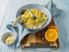 Wat Eten We Vandaag: Parelcouscous met courgette en sinaasappel