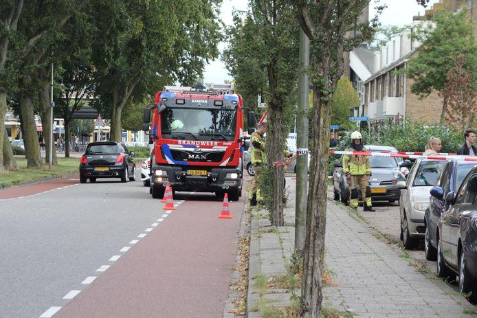 De acties van de hulpdiensten zorgden voor verkeershinder.