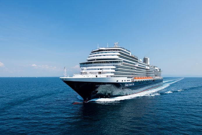 Cruiseschip Nieuw Statendam van de Holland America Line