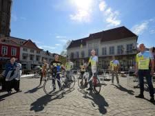 Op de fiets om geld in te zamelen: 'Samen ten strijde tegen taaislijmziekte'
