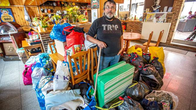 Inzamelpunt in Dachterdeer voor spullen voor slachtoffers overstromingen