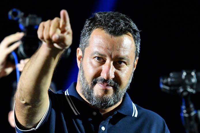 Volgens de peilingen zal Matteo Salvini als grote winnaar uit de bus komen.