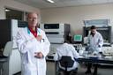 Microbioloog  en lid RedTeam Bert Mulder.