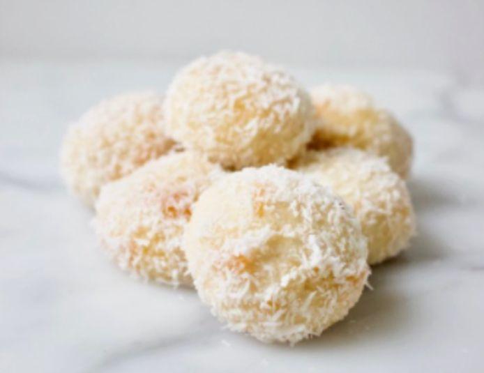 Marokkaanse kokoskoekjes.