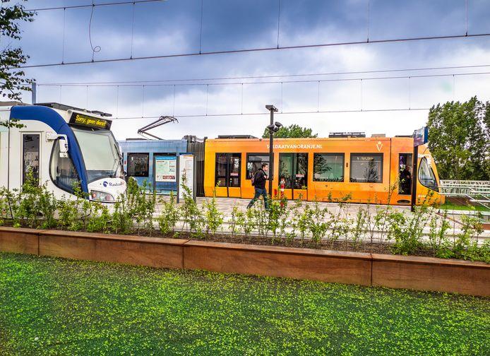 Nieuwe Station Lansingerland-Zoetermeer - Openbaar Vervoer knooppunt.