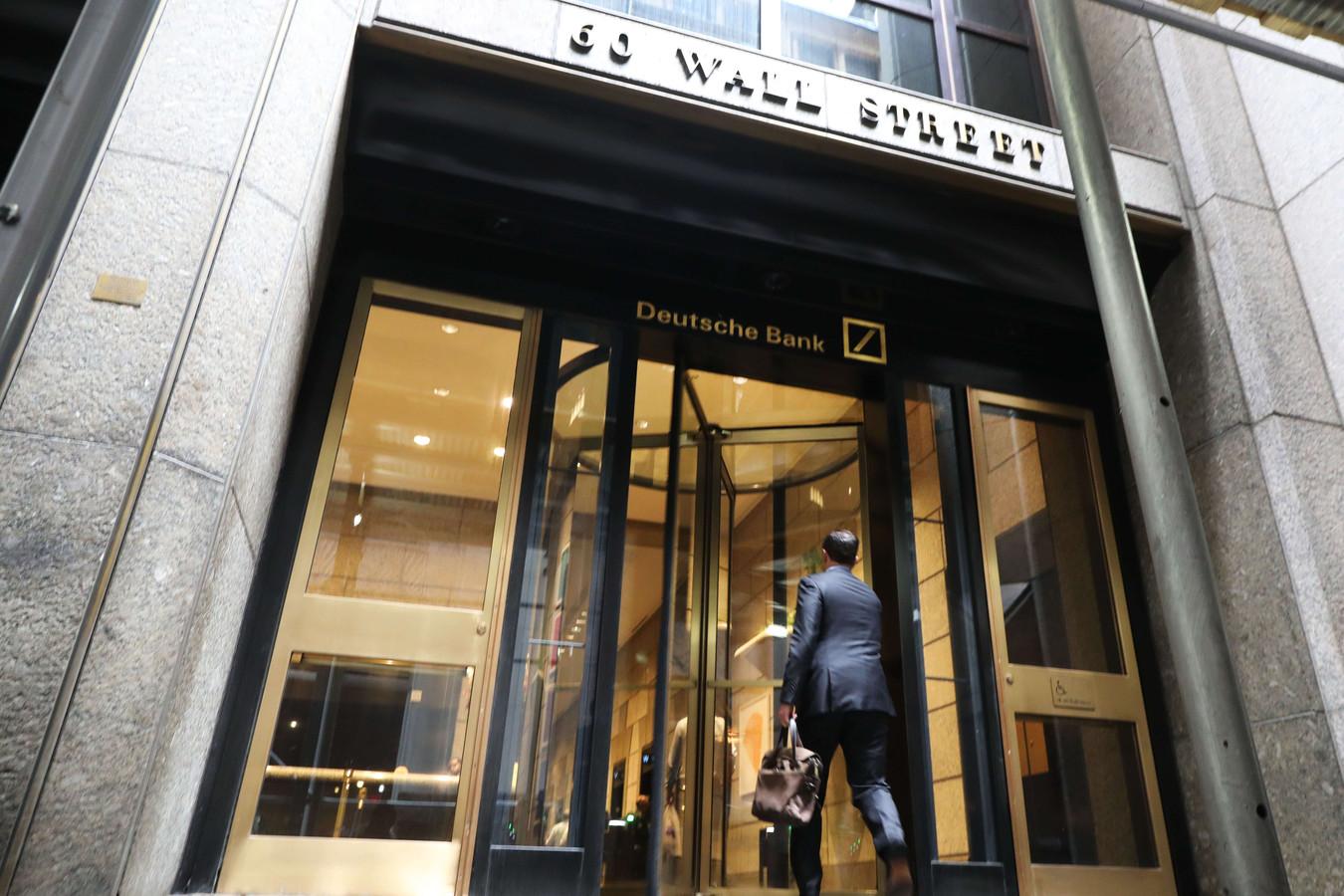Le siège de Deutsche Bank à Manhattan.