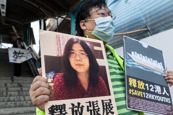 La journaliste Zhang Zhan a été condamnée par la justice chinoise pour avoir diffusé des informations sur les débuts de la pandémie de coronavirus à Wuhan.