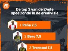 Vitesse-middenvelders en Peña maken indruk, FC Utrecht ondermaats