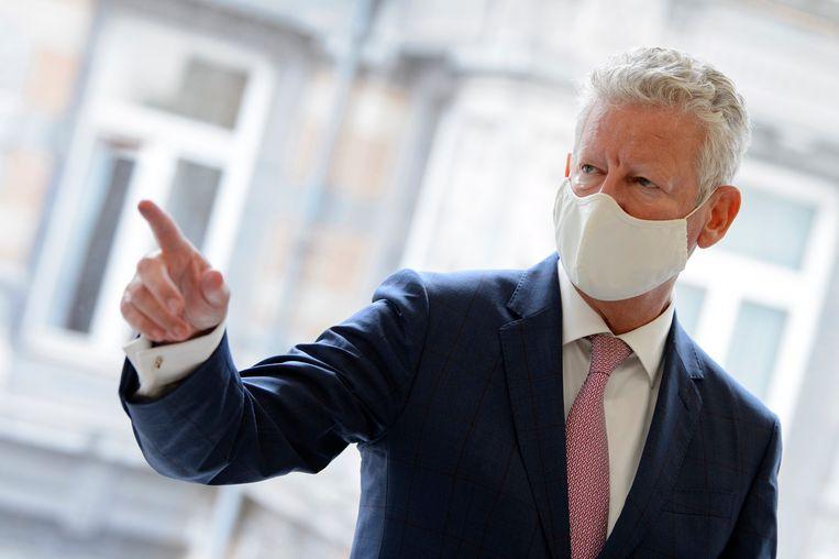 Minister van Binnenlandse Zaken en CD&V-boegbeeld Pieter De Crem. (26/08/2020) Beeld Photo News