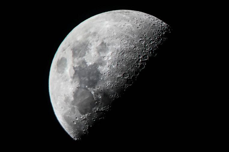 Rusland en China tekenden op 9 maart een overeenkomst voor de gezamenlijke ontwikkeling van een ruimtestation op en/of rond de maan. Beeld AFP
