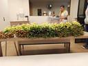 Alle personeelsleden van woonzorgcentrum De Vlietover in Bornem werden vandaag in de bloemetjes gezet