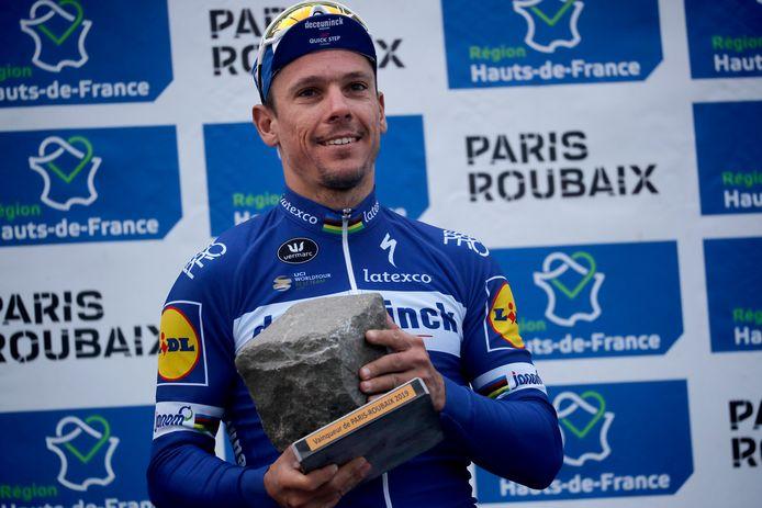Vainqueur de Paris-Roubaix en 2019, Philippe Gilbert n'attend plus que Milan-Sanremo pour compléter son palmarès.