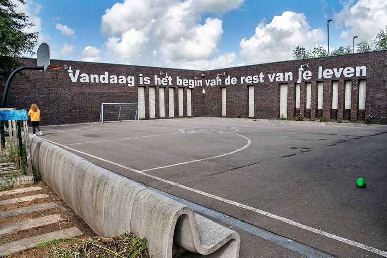Jeugdzorgplusinstelling Transferium in Heerhugowaard. Beeld Guus Dubbelman / de Volkskrant
