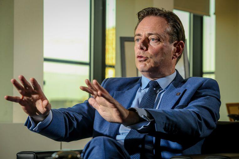 Bart De Wever is volgens de nieuwe peiling de populairste politicus. Beeld Photo News