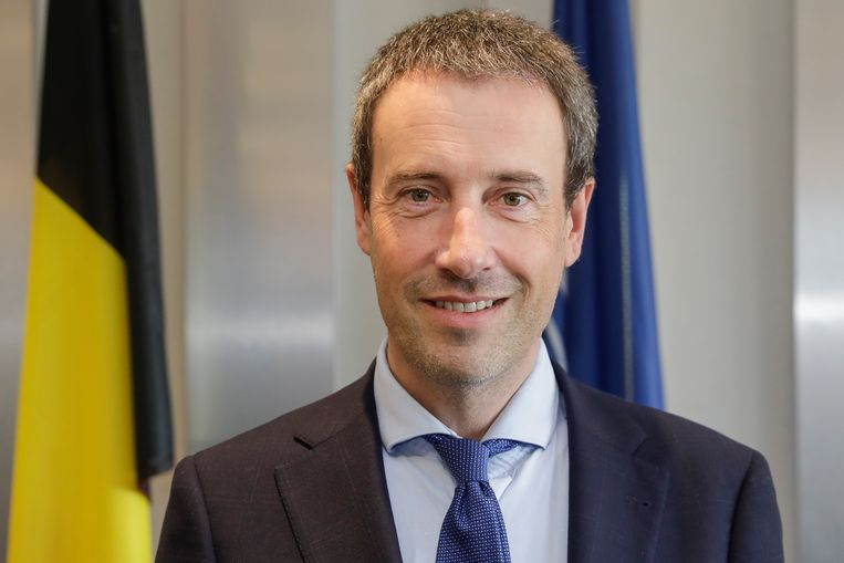 Minister van Defensie Philippe Goffin (MR). Beeld BELGA