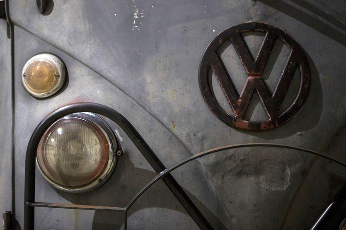 Detail van een Volkswagen T1-bus. Foto ter illustratie.