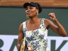 Venus Williams na zeventien jaar terug in halve finale Indian Wells