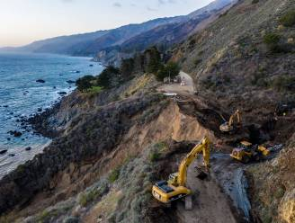 Klimaatverandering bedreigt iconische Pacific Coast Highway in Californië