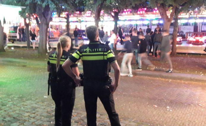Extra inzet van BOA's en agenten op de kermis in Oisterwijk na vechtpartiijen.