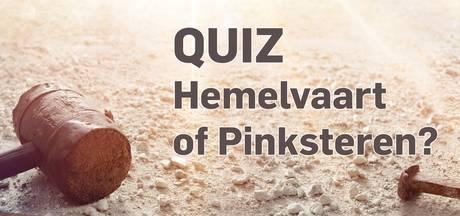 Weet jij het verschil tussen Hemelvaart en Pinksteren?
