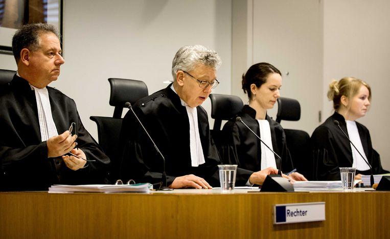 Bij de rechtbank Midden-Nederland vond vandaag de pro forma zitting in de zaak Anne Faber plaats. Beeld ANP