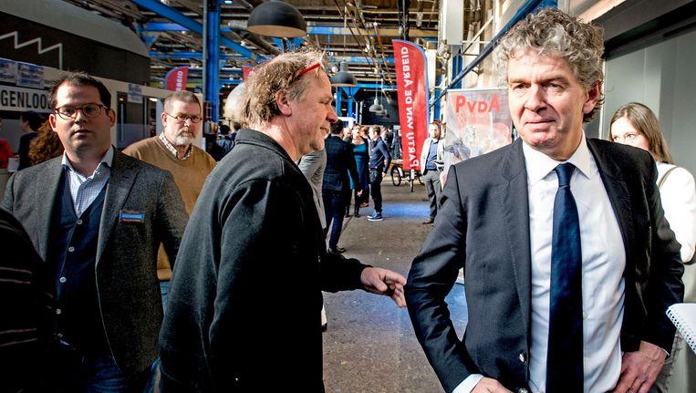Jacques Monasch (rechts) Beeld anp