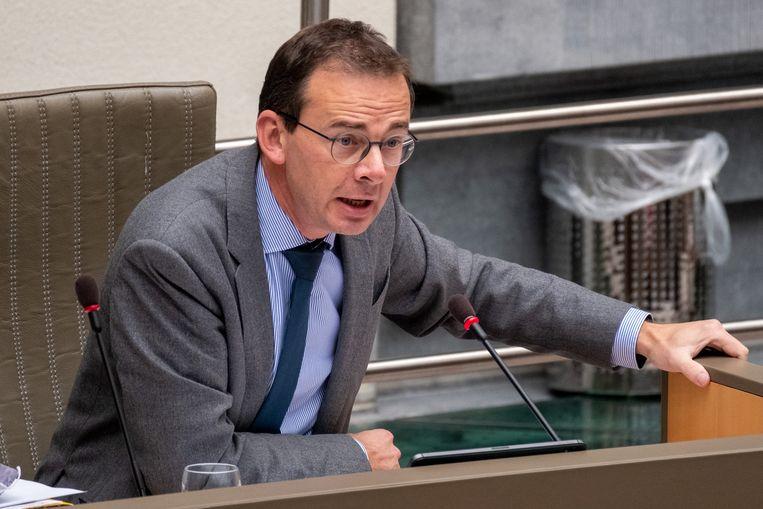 Bevoegd minister van Welzijn Wouter Beke (CD&V). Beeld BELGA