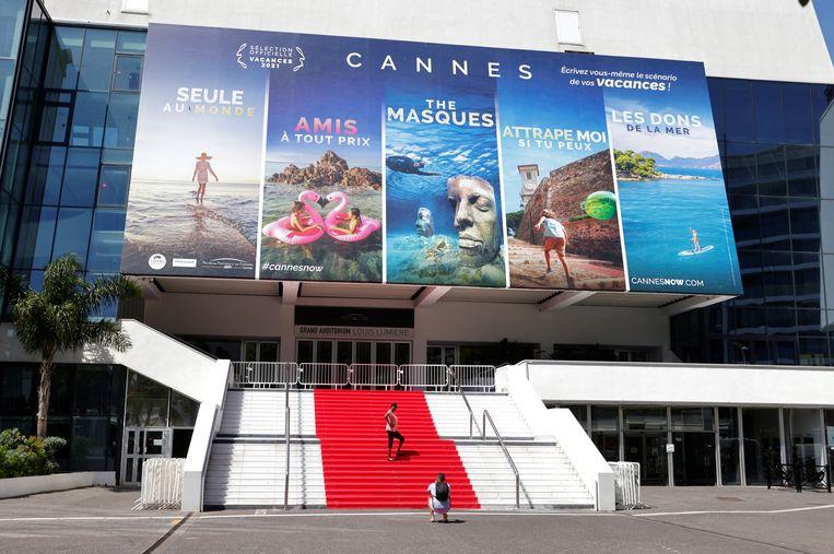 De rode loper van het filmfestival in Cannes. Beeld Eric Gaillard / REUTERS