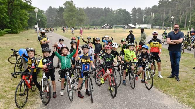 125 enthousiaste kinderen nemen deel aan 'Dag van de Miniem' van Vlaamse Wielerschool Provincie Antwerpen