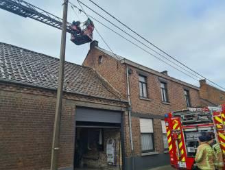 Kauwennest in schoorsteen veroorzaakt schouwbrand